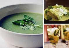 Eat Green Food on St. Patrick's Day  Pick and choose a few dishes for a day full of naturally green food overflowing with the Luck O' the Irish. Looking for more edible ways to celebrate the day? Try some of these Irish recipes.