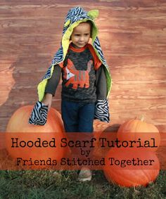 Hooded Animal Scarves - Friends Stitched Together