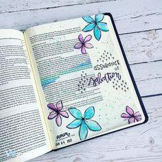Bible Journaling by Jesus Bible, Bible Prayers, Bible Art, Bible Verses, Scriptures, Assurance Of Salvation, Scripture Lettering, New Testament Bible, Bible Notes