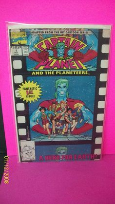 1991 Captain Planet And The Planeteers 1  1st Issue A Hero