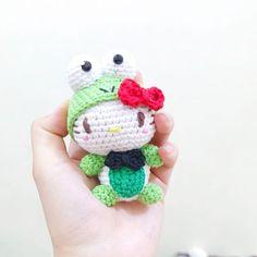 . #janicegallery #amigurumi #crochet #handmade #keroppi #hellokitty #sanrio…
