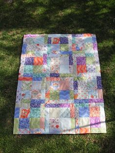 Good Fortune by Kate Spain quilt top