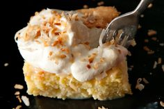 This Tres Leches Cake recipe, soaked with a milky mixture laced with dark rum and coconut milk, is one of our most popular recipes.