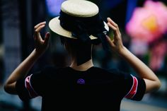 Shanghai Fashion Week's Best Street Style Is All In the Details Photos   W Magazine