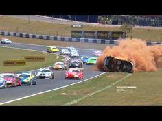 Forte acidente de Pedro Piquet na Porsche GT3 Cup em Goiânia | Revista Visões Urbanas