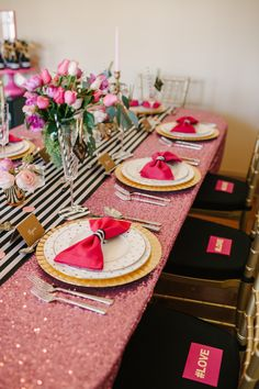 A Chic and Swanky Kate Spade Inspired Dinner Party - photo by lauren rae photography