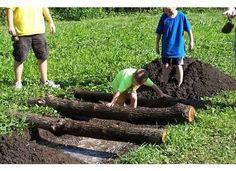 Kid's mud run, mud race, mud obstacle course. Our Little Backyard Farm