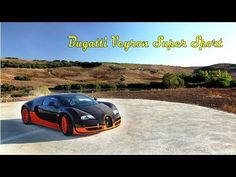 Видео обзор автомобиля Bugatti Veyron Super Sport со всех сторон