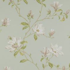 Colefax & Fowler Colefax and Fowler Marchwood Aqua Wallpaper - - Baptista Wallpapers Collection Aqua Wallpaper, Wallpaper Online, Pattern Books, Pattern Paper, Colefax And Fowler Wallpaper, Red Colour Palette, Designer Wallpaper, Pink And Green, Photo Galleries