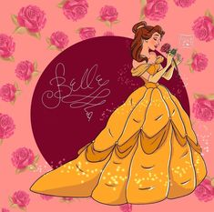 Princess Belle, Disney Princess, Belle Beauty And The Beast, Walt Disney Animation Studios, Wonders Of The World, Enchanted, Disney Characters, Fictional Characters, Photo And Video
