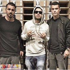 Blerim Destani & Noizy & Granit Xhaka