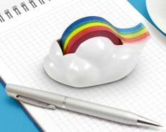 FLYING COLORS RAINBOW TAPE DISPENSER, Do you have a friend who needs this? http://keep.com/flying-colors-rainbow-tape-dispenser-by-perpetual_kid/k/0C6X8fgBDQ/