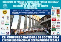 Segovia acoge el II Congreso de Turismo, con la participación de los mejores profesionales de España http://revcyl.com/www/index.php/cultura-y-turismo/item/3550-segovia-acoge-el-ii-congreso-de-turismo-con-la-participaci%C3%B3n-de-los-mejores-profesionales-de-espa%C3%B1a