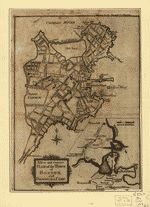 A new and correct plan of the town of Boston, and provincial camp —1775