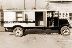 Kuhner Packing Company Delivery Truck