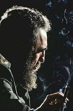 Fidel Castro, Havana 1984 Photograph: Eddie Adams
