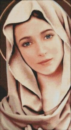 Jesus Mother, Blessed Mother Mary, Blessed Virgin Mary, Mother Mary Images, Images Of Mary, Angel Pictures, Jesus Pictures, Catholic Art, Religious Art