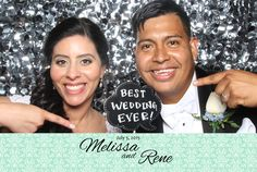 Congrats to Melissa and Rene on a great wedding!!!