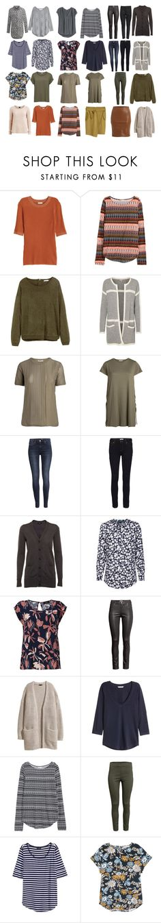 """Capsule wardrobe with colour"" by lone-haure-norrevang on Polyvore featuring H&M, VILA, FiveUnits and Noisy May"