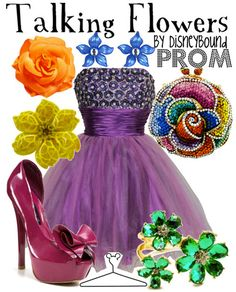 16 Disney-fied Prom Ensembles - BuzzFeed Mobile. Also love the colors on this one