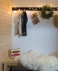 Vantaan Satupihan jouluinen pihasauna Ikea, Gate Valve, Ikea Co