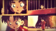 ~Scene~~Heiji, Kazuha~ Young Kazuha is so pretty