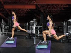 Try this Deficit Bulgarian Split Squat for a better butt that looks great in a bikini and get more butt exercises demonstrated by Nathalia Melo with this workout created by Brett Contreras