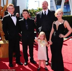 Good luck Charlie: The cast - Bradley Steven Perry,  Jason Dolley,  Eric Allan Kramer, Leigh-Allyn Baker and little Mia Talerico - attended ...