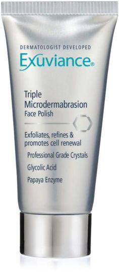 Exuviance Triple Microdermabrasion Face Polish - got a sample of this. Will try tonight. Will post my reaction to it.