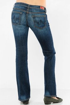 AG jeans now eco friendly.  AG uses Ozone TEchnology to finish jeans using a dry process:  less water, less energy, less chemicas. And if you haven't tried these jeans, you're missing out!