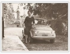 Fiat 500, Car Images, Sexy Girl, Historical Pictures, Volkswagen, Antique Cars, Vehicles, Vintage, Period