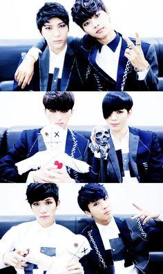 N , Leo ,Ken, Ravi , Hong Bin and Hyuk ♡ #VIXX TV ep 76