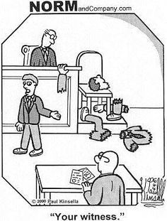 The not-so-subtle art of cross exam! Leaving them in pieces before they even… Law Student Quotes, Law Quotes, Beagle, Law School Humor, Lawyer Humor, Prison Humor, Far Side Comics, Legal Humor, Laugh Till You Cry