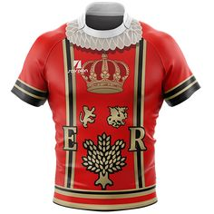 Scorpion Sports Beefeater Rugby Tour Shirts available from stock or personalised with your own details and club badge. Designed in a Beefeater uniform pattern for rugby tours. Soccer Uniforms, Jersey Boys, Collar Styles, Soccer Players, About Uk, Printed Shirts, Rugby Jerseys, Rugby Shirts, Tours