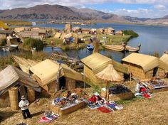 PERU |||||||||| LAGO TITICACA. Lake Titicaca, Peru