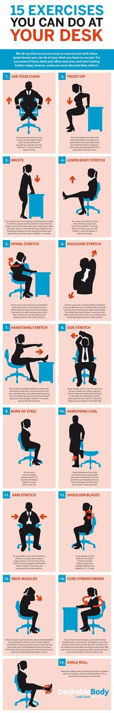 15 exercises you can do while working on your TPS reports.