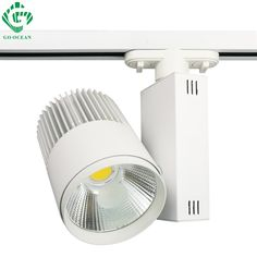 269.28$  Buy now - http://alicw4.shopchina.info/1/go.php?t=32244026143 - LED Track Light 30W COB Ceiling Rail lights For Pendant Kitchen Clothes Shop Shoes Store Equal 300W Halogen Lamps Spot Lighting  #buyonlinewebsite