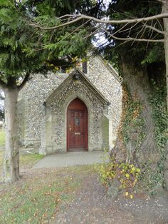 Stone church outside RAF Mildenhall - Mildenhall, England I believe this is New Testament Baptist Church in Kenny Hill, England!!! I went there as a child! We had many services in this building and my mother has one of the old church pews.