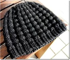 Free Knitting Pattern - Hats: Christian's Hat