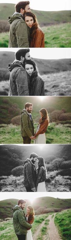Outerwear that compliments each other.. good idea for chilly engagement session days! Summer Murdock Photography Salt Lake City Photographer