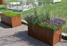 corténstål planteringskärl - Sök på Google