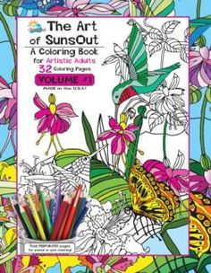 The Art Of SunsOut Coloring Books Volume 1 Other Animals Book