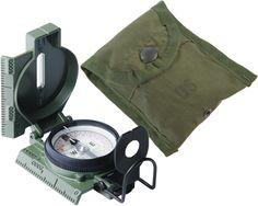 G I Military Lensatic Compass Model 27