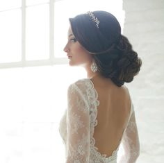 http://www.modwedding.com/2014/10/31/prettiest-wedding-hairstyles-rock-wedding-day/ #wedding #weddings #hairstyle via elstile