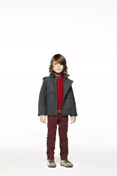 Jude coat, Spike jumper, Ethan shirt, Pedro trousers, Marshall hiking boots