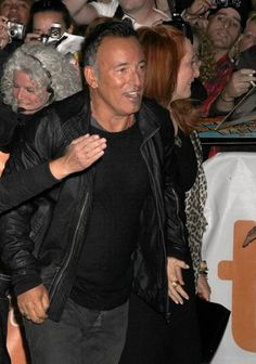 The Boss, Bruce Springsteen, caused chaos when he arrived for The Promise: The Making Of Darkness On The Edge Of Town premiere at the Toronto Film Festival. The documentary contains studio footage filmed during the recording of Darkness, Bruce Springsteen's 1978 follow-up to Born to Run.