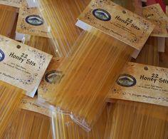 Honey Stix Honey Sticks Straws filled with Pure Honey Package of 22 by PeaceBlossomCandles on Etsy https://www.etsy.com/listing/62357776/honey-stix-honey-sticks-straws-filled