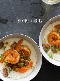 Mardi Gras Ready: A Jazzy Little Cheddar Shrimp & Grits Recipe, Courtesy Of Spoon Fork Bacon. | Blog | The Fix