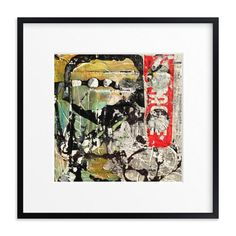 """""""Smokey Eyes"""" - Art Print by Misty Hughes in beautiful frame options and a…"""
