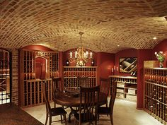 one day i will have a wine cellar...